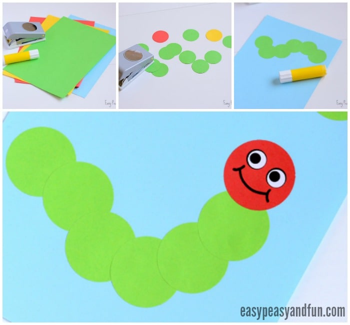 Simple Caterpillar Craft
