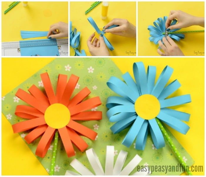 Paper flower craft ukrandiffusion paper flower craft easy peasy and fun mightylinksfo