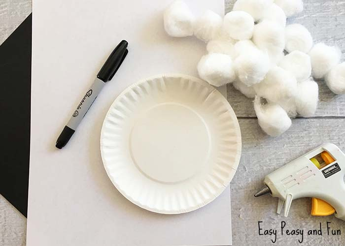 This is easily done with a glue gun but we previsouly did other paper plate crafts where we used ... & Sheep Paper Plate Craft - Easter Craft Ideas - Easy Peasy and Fun