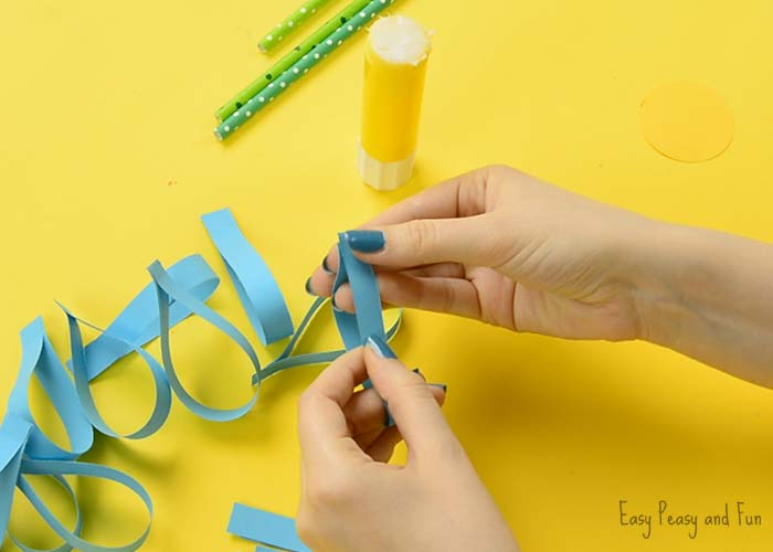 Paper Flower Craft Easy Peasy And Fun