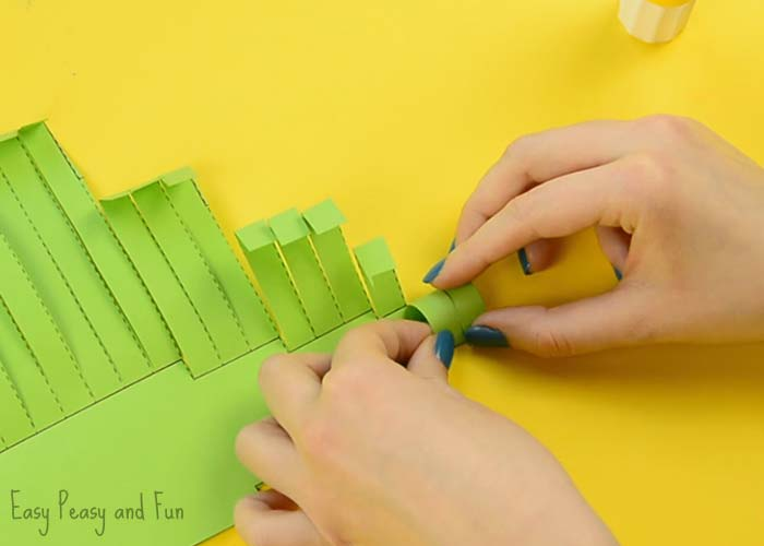 Paper Crocodile Craft Easy Peasy And Fun