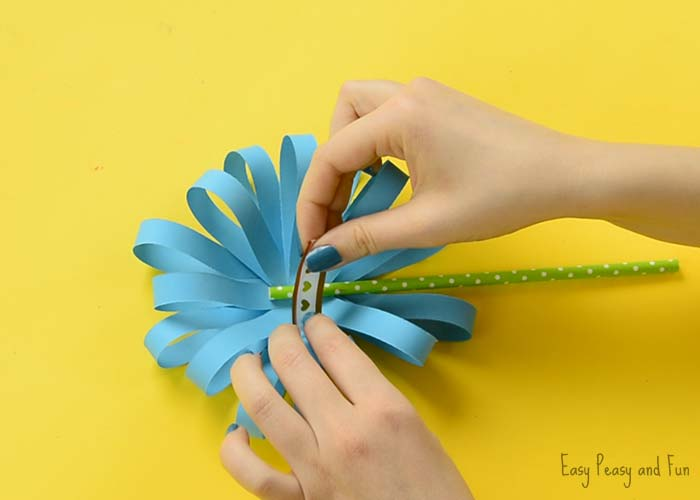 Your Paper Flower Craft Is Complete