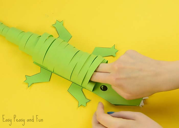 crocodile paper plate craft paper crocodile craft easy peasy and 4195