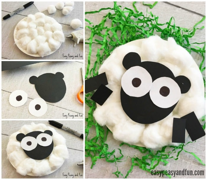 Adorable Sheep Paper Plate Craft for Kids
