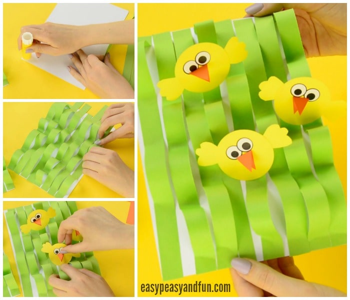 Adorable Spring Chick Paper Craft