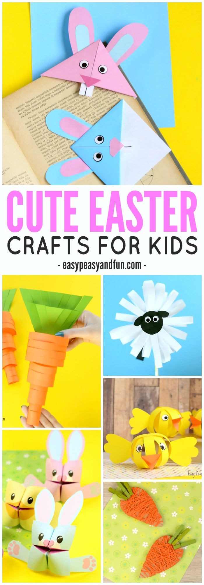 Cute Easter Crafts for Kids to Make