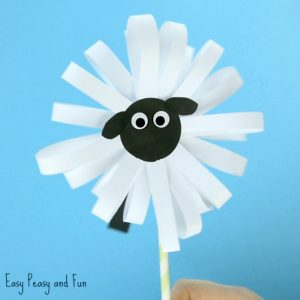 Cute Paper Sheep Craft