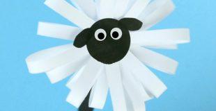 Cute Paper Sheep Craft