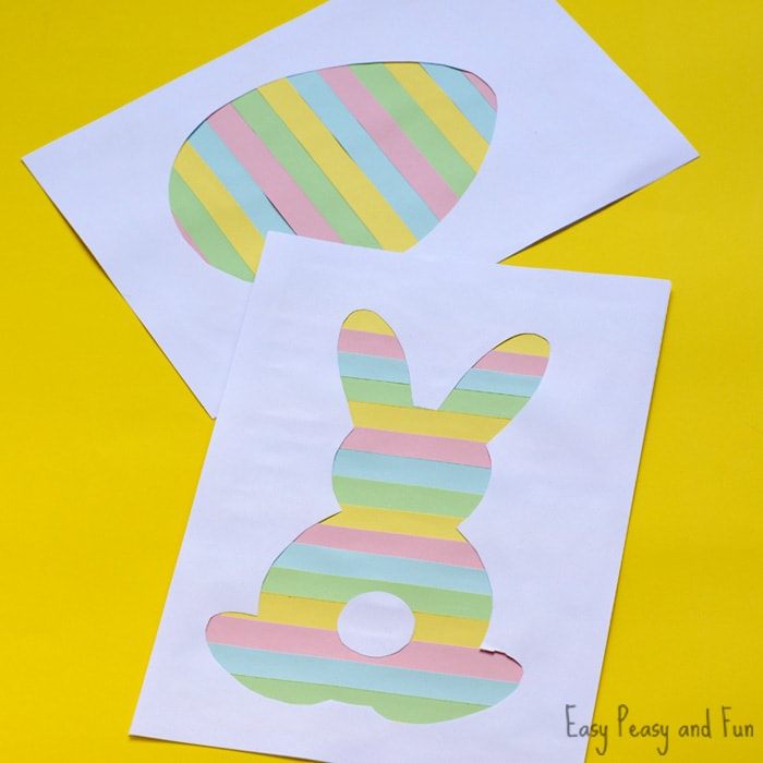 Cute Printable Easter Silhouette