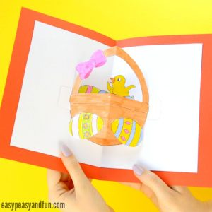 DIY Easter Pop Up Card