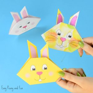 Origami Bunny Craft