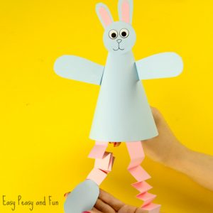 Paper Cone Bunny Craft