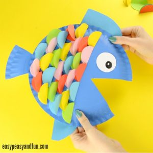 Paper Plate Fish Craft for Kids & Paper Plate Crafts - Easy Peasy and Fun