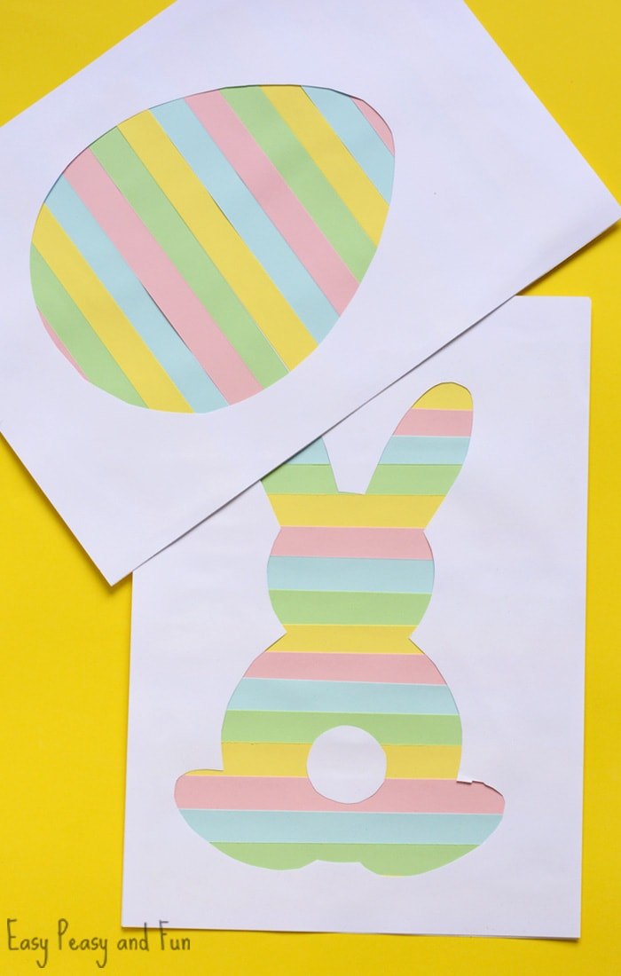 Printable Easter Silhouette