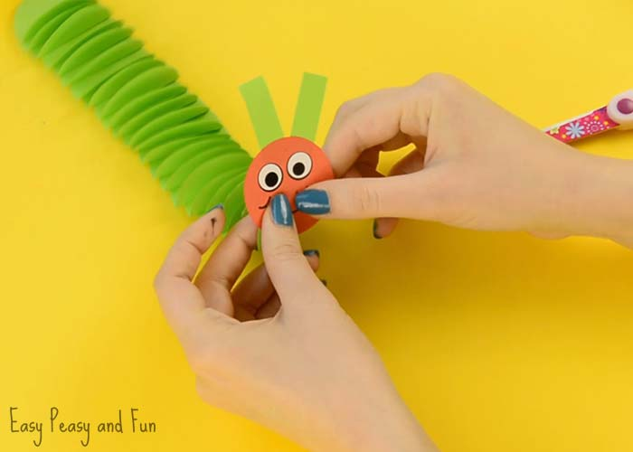 Paper Caterpillar Craft