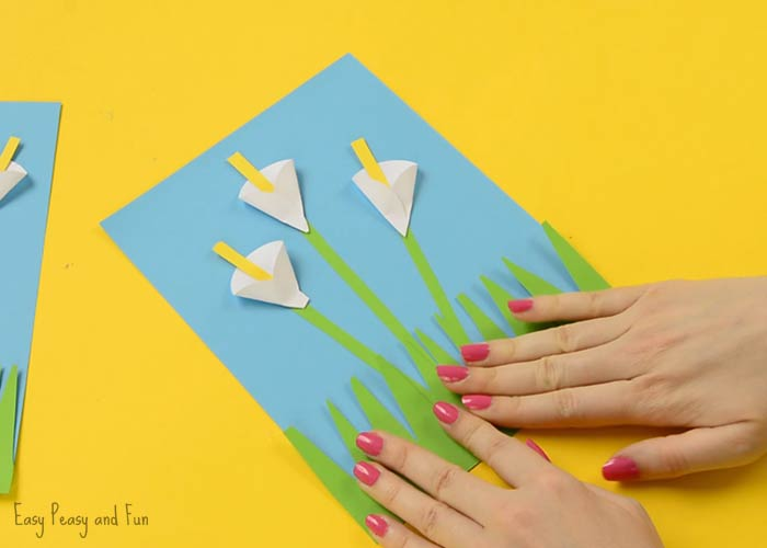 calla lily paper craft calla paper craft flower craft ideas easy peasy 3492