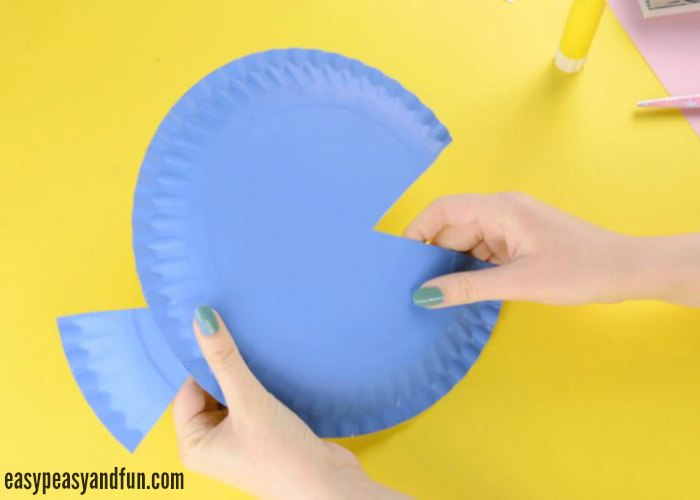 Paper Plate Fish Craft Rainbow Paper Circles Easy  sc 1 st  Castrophotos & Fish Out Of Paper Plates - Castrophotos