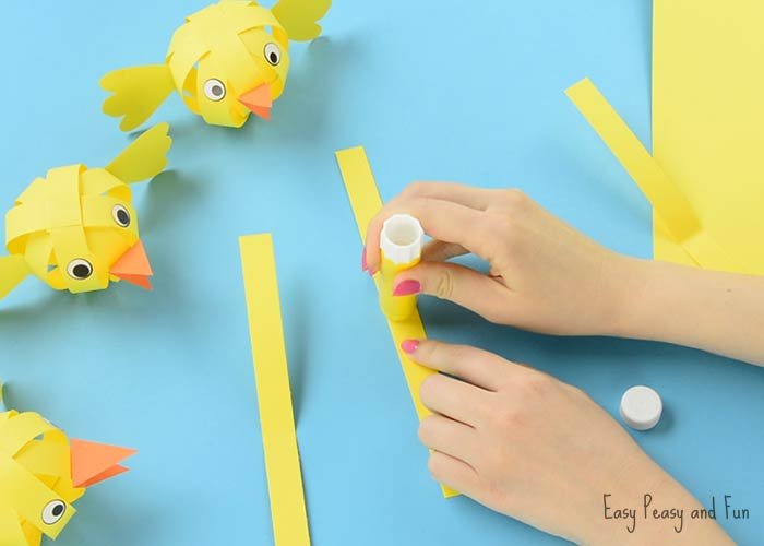 simple easter construction paper craft simple paper craft easter craft ideas easy peasy 7150
