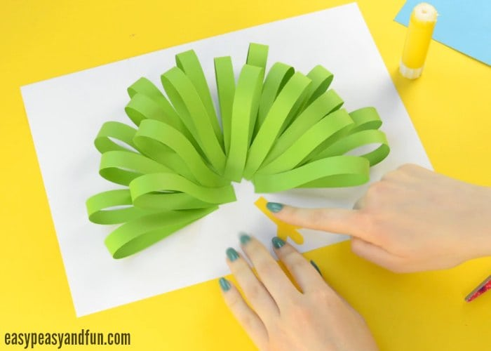 Paper Peacock Craft Easy Peasy And Fun