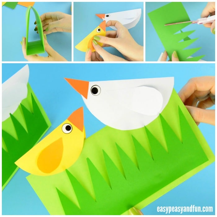 Adorable Spring Chick Craft