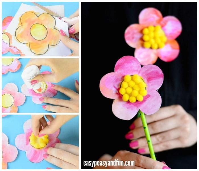 Cute Flower Craft