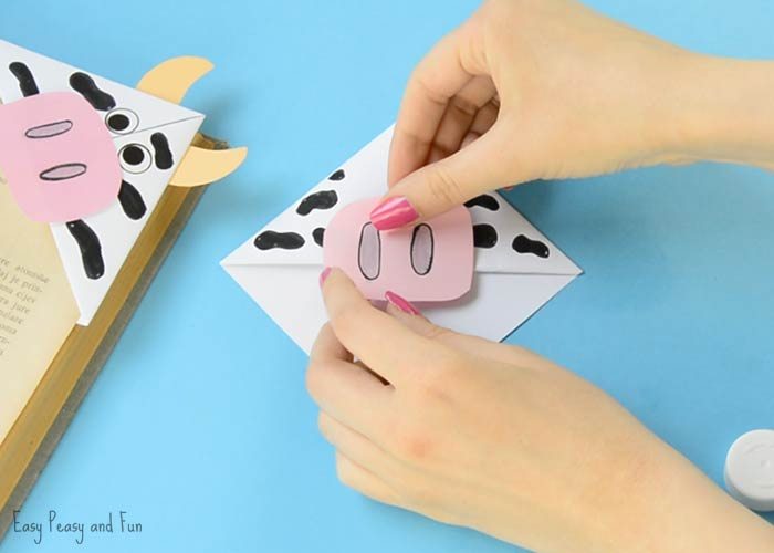 cow corner bookmarks cow corner bookmarks easy peasy and 1367