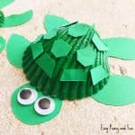 Cute Seashell Turtle Craft for Kids