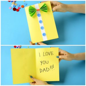 Fun Father's Day Card Craft for Kids
