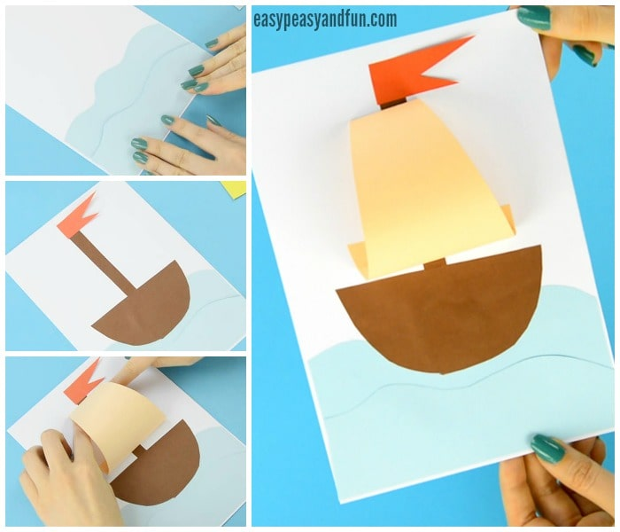 Fun and Simple Paper Boat Craft