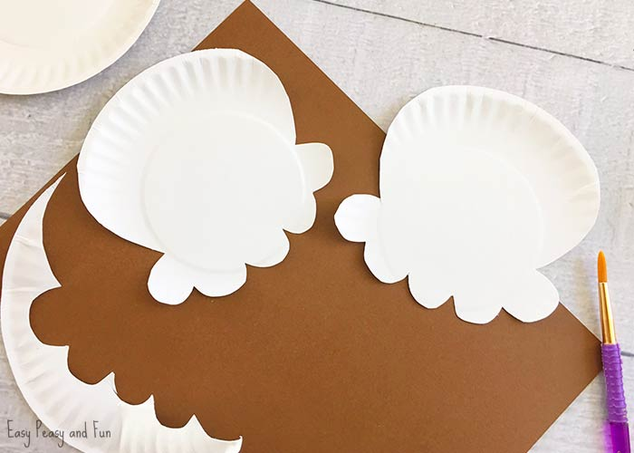 Draw an ice cream scoop onto your paper plates with a rounded circle top a scalloped bottom with the sides slightly bigger than the top circle and cut out ... & Paper Plate Ice Cream Craft - Summer Craft Idea for Kids - Easy ...