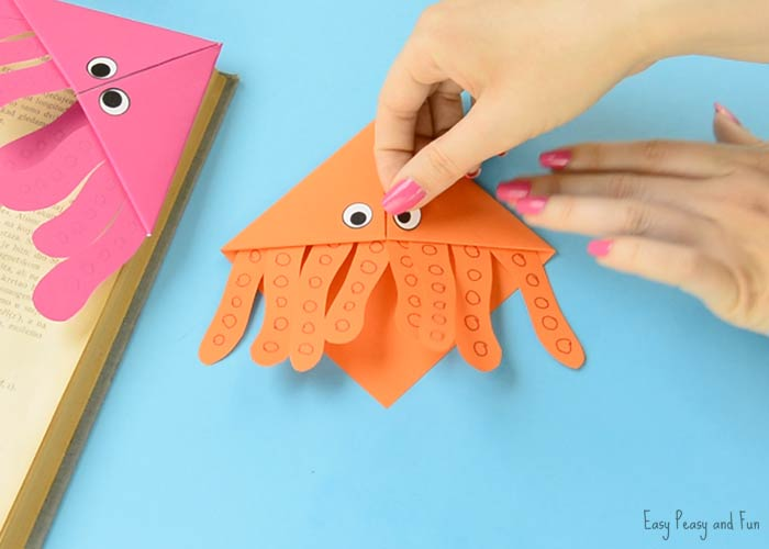 octopus corner bookmarks octopus corner bookmarks easy peasy and 2566