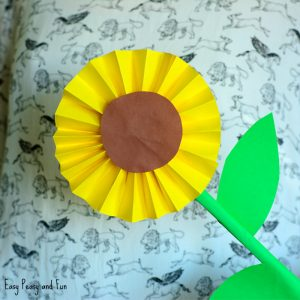 Sunflower Paper Craft Idea