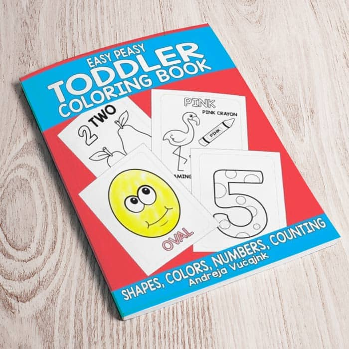 coloring book for toddlers - Toddler Coloring Book