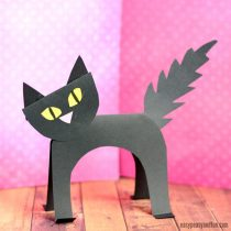 Super Simple Black Cat Paper Craft