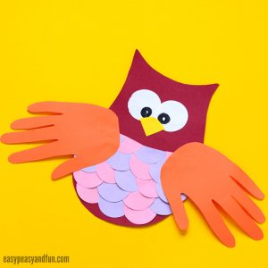 Construction Paper Owl