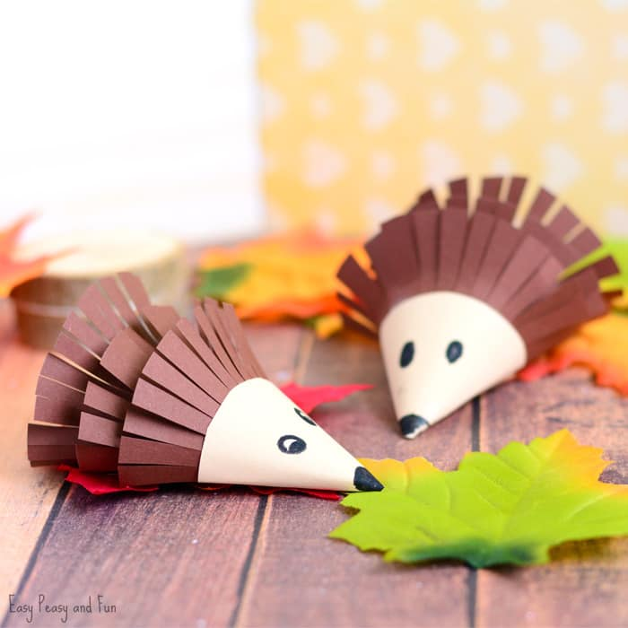 Cute Hedgehog Paper Craft