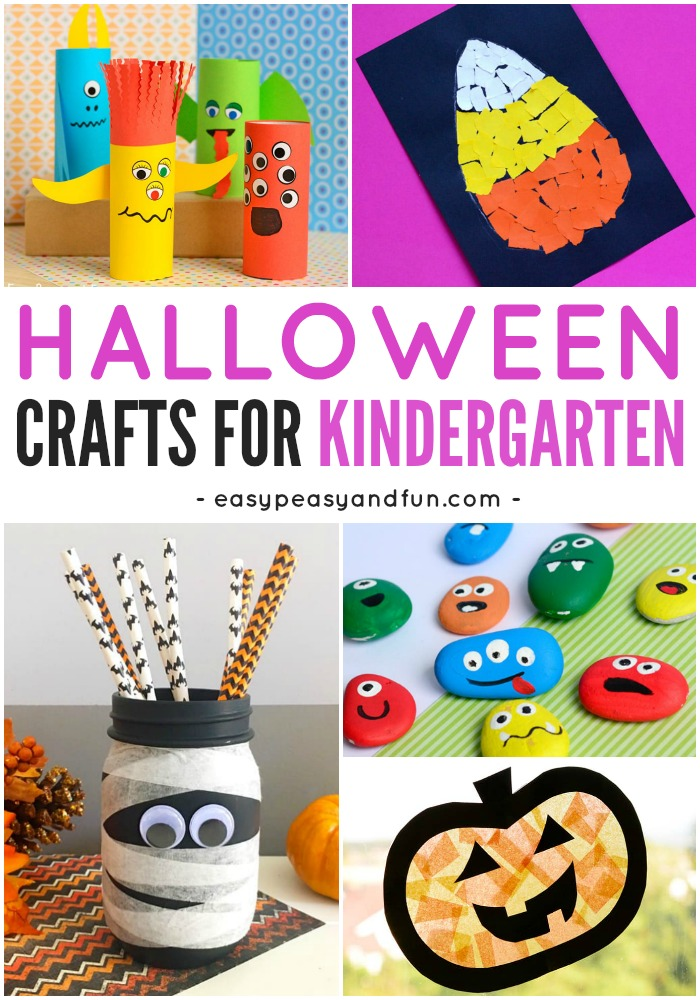 Fun Halloween Crafts for Kindergarten