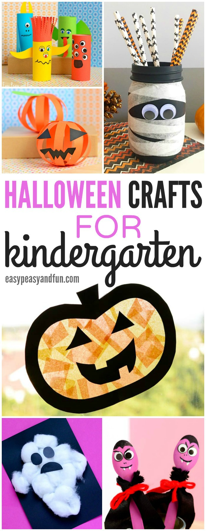 Fun and Simple Halloween Crafts for Kindergarten
