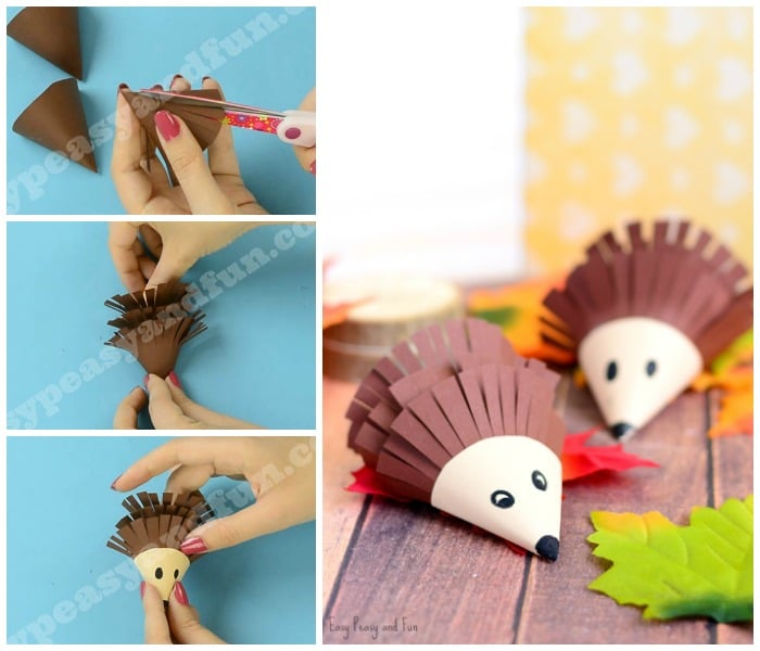 Hedgehog Paper Craft