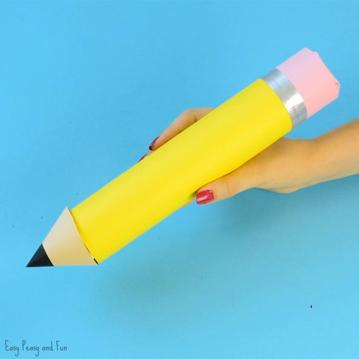 Paper Roll Pencil Craft