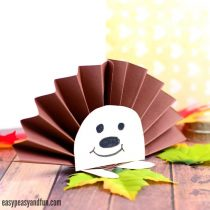 Paper Rosette Hedgehog