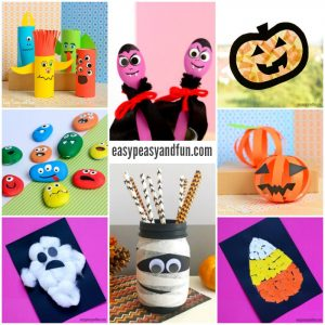 Halloween Crafts for Kindergarten