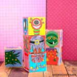 Printable Monsters Mix and Match Cubes