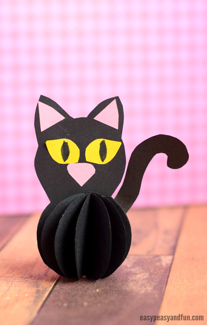 Paper Ball Black Cat Easy Peasy And Fun
