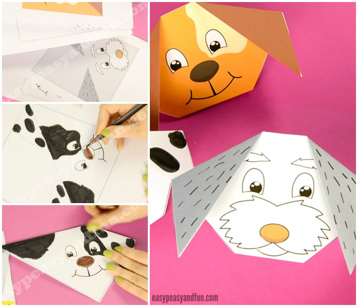 how to make an origami dog easy peasy and fun