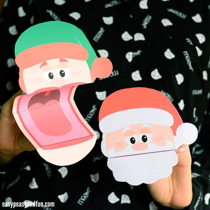 Cute Christmas Hand Puppets