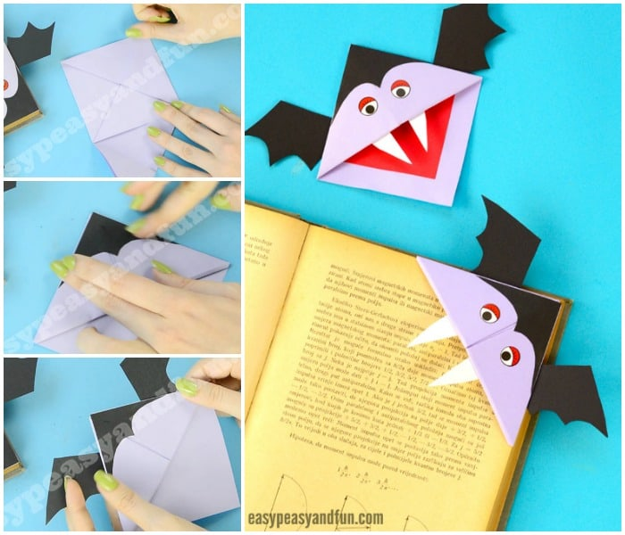 Cute Vampire Corner Bookmark
