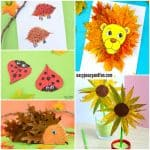 Fun Leaf Crafts for Kids