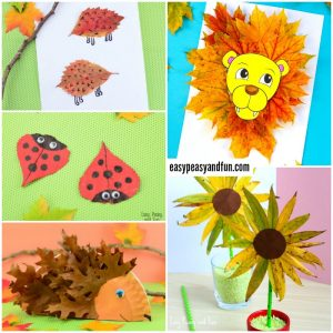Wonderful Fall Leaf Crafts Ideas