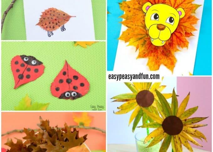 Wonderful Fall Leaf Crafts Ideas